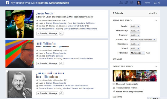 boston graph search