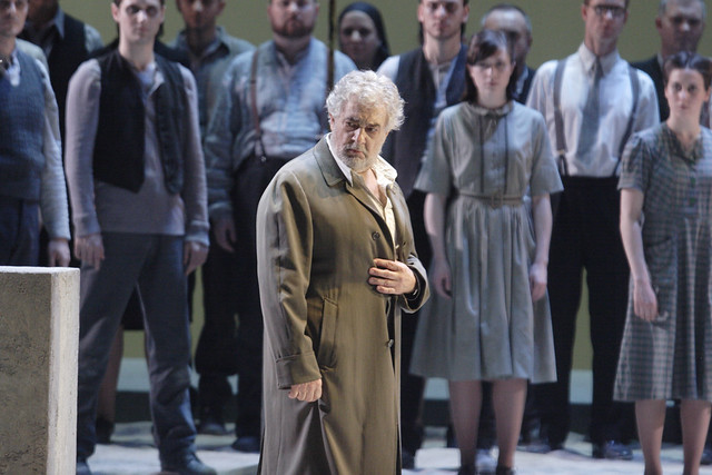 Plácido Domingo and Nabucco in The Royal Opera's Nabucco ©  ROH/Catherine Ashmore