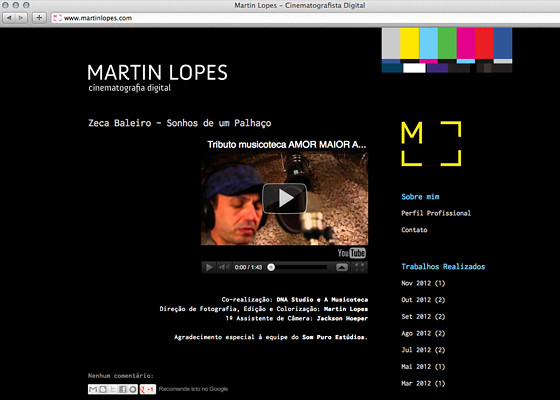matin lopes web