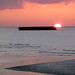 Mulberry Harbour at sunset (Tom Brereton)