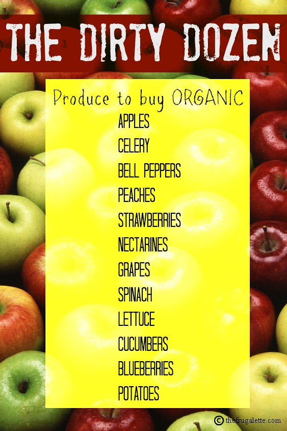 dirty dozen produce