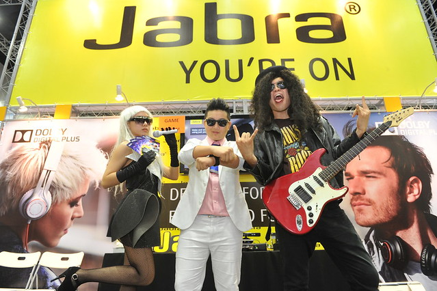Popular fashion icons, Lady Gaga, Slash and Psy took centre stage at the launch of Jabra's latest new premium hands free audio solutions, Jabra Revo Wireless, Jabra Revo Corded and Jabra Vox,