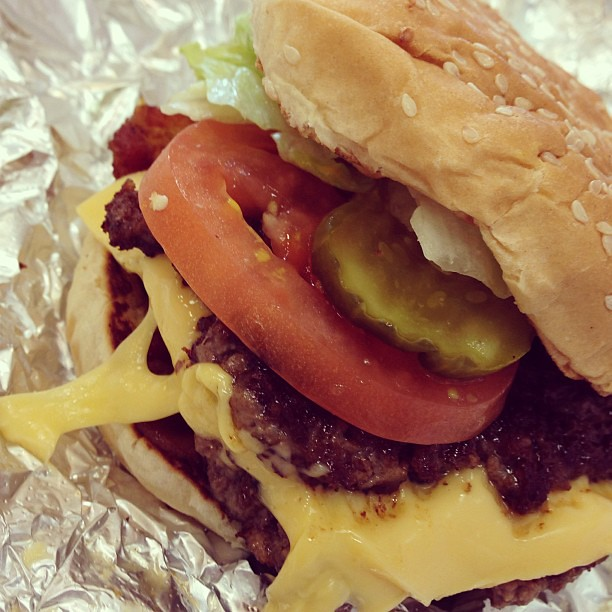Bacon Cheeseburger #food #burger #grub #5guys #americana | Flickr ...