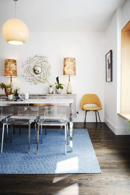 Modern Lucite Dining Chairs