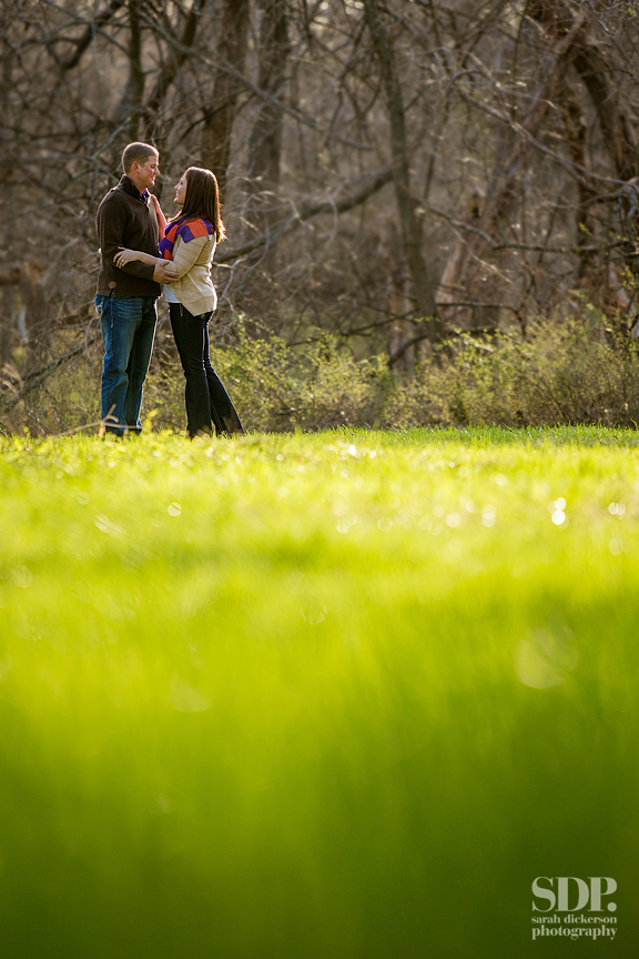 Shawnee Mission Park engagement photos