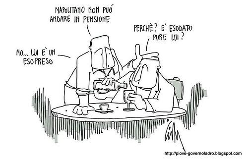 Niente pensione per Napolitano by Livio Bonino