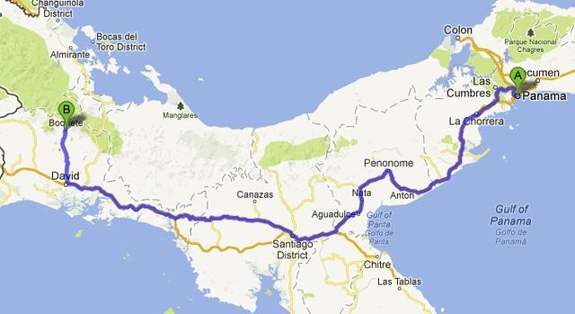 road to bocas 1