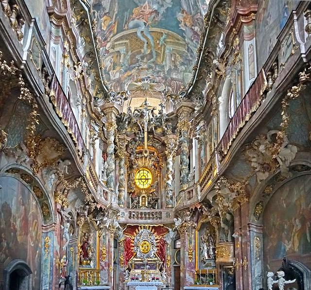 L'église des Frères-Asam (Munich)