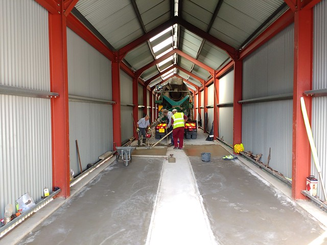 Concreting The Carraige Shed Floor