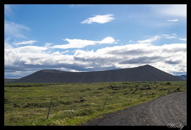 Islandia Myvatn Godafoss Akureyri Glaumbaer Vidimyrarkirkja Grundarfjordur - Volcán Hverfjall
