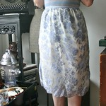 lace slip skirt from tag sale in Lloyd Harbor