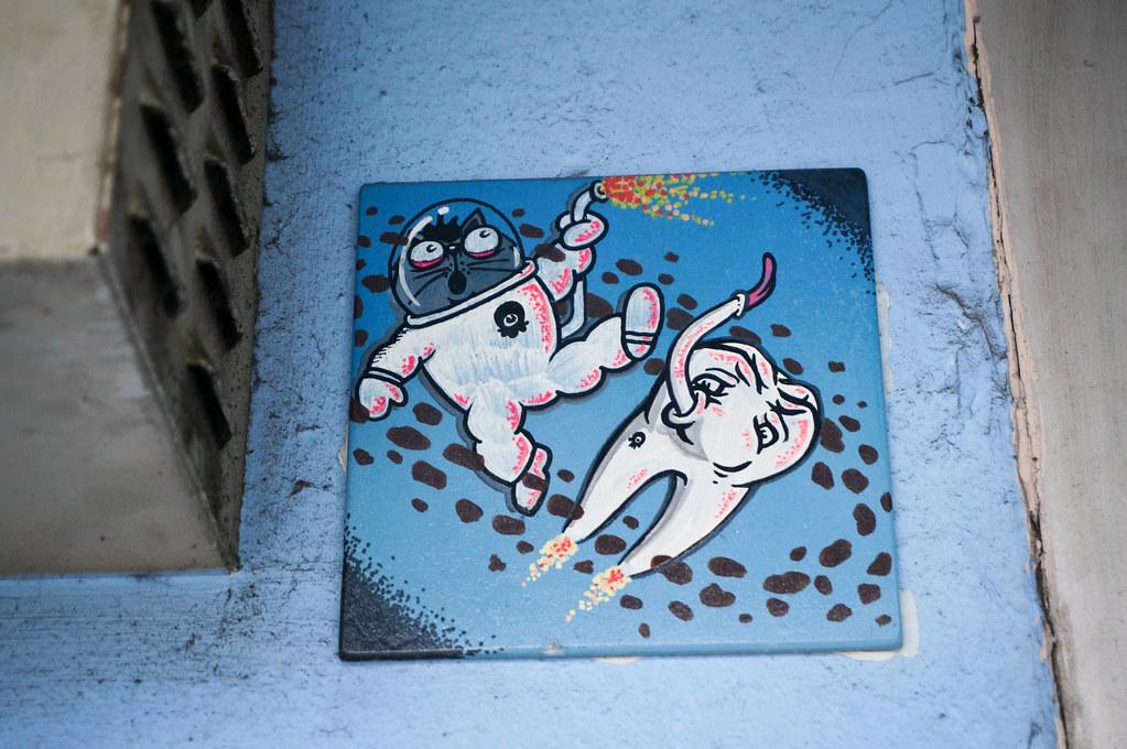 Street Art Hamburg Holm