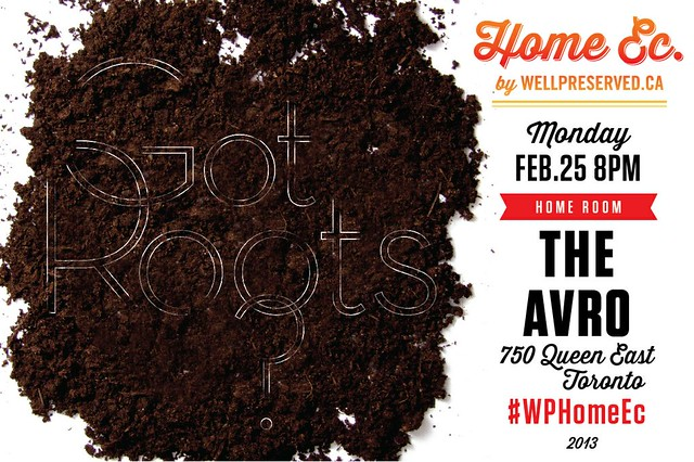 Ideas for HomeEc #14: Got Roots (Root Vegetable Recipe Ideas) February