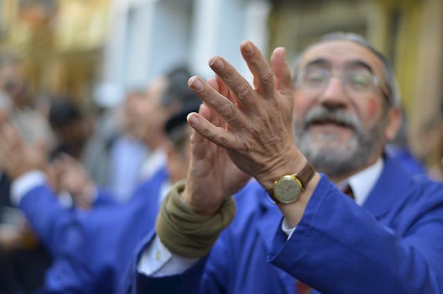 Cantando por las calles de Cádiz a Urdangarín