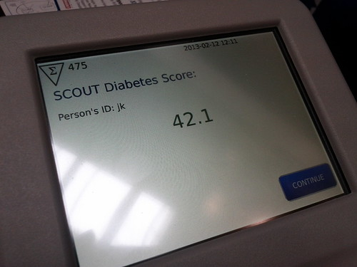 Aspen Medical screening for Diabetes