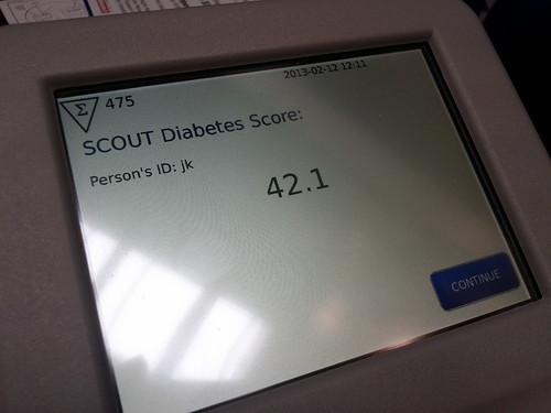 Aspen Medical screening for Diabetes