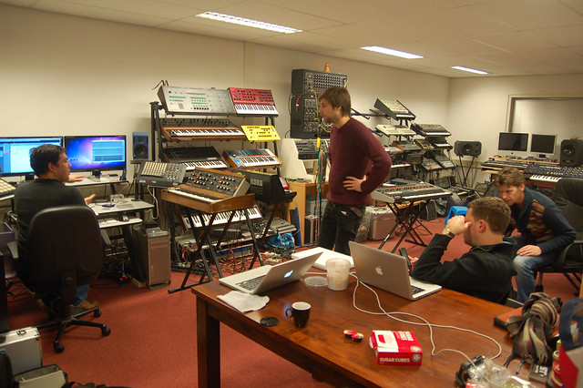 Lightwires recording at Sonar Traffic
