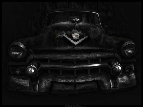 art car emblem nikon automobile antique cadillac grill ornament coolpix hood ©markpatton p7700