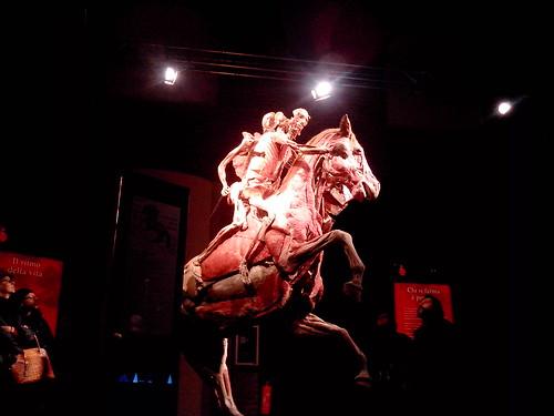 Cavallo impennato con Cavaliere a Milano by Ylbert Durishti