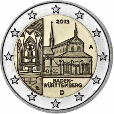 *2 Euro Nemecko 2013 A, Spolková krajina Baden-Württemberg