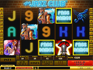 free The Jazz Club bonus game