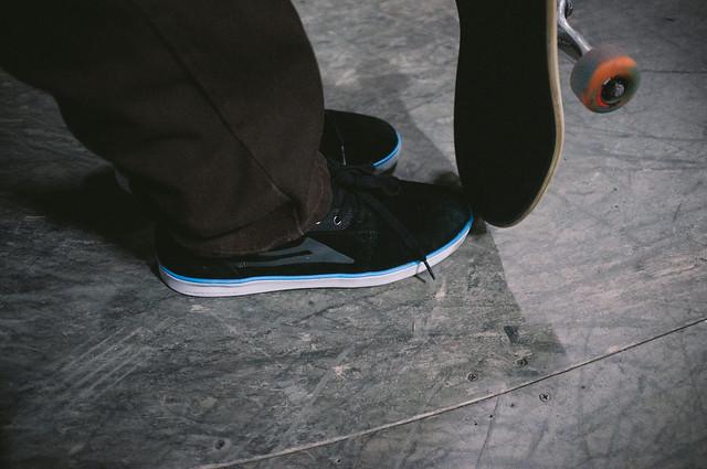Rick Howard Lakai Shoe Test w/ Active
