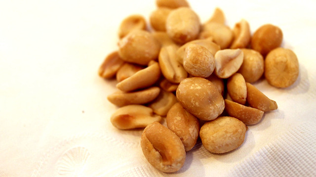 shelled peanuts spectral analysis