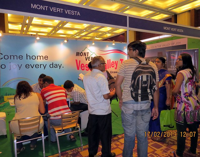"5 Lakh Main Ghar - Mont Vert Vesta Pirangut - The Times of India Pune Property Exhibition  ""Invest in West Pune""  16th & 17th February 2013"