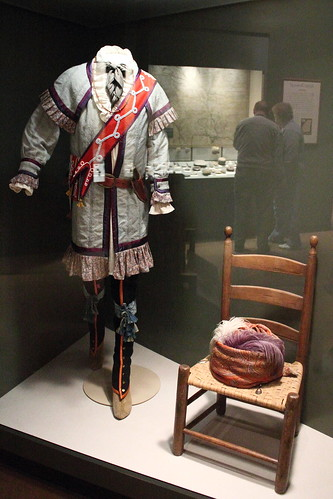 Cherokee dress, 19th century