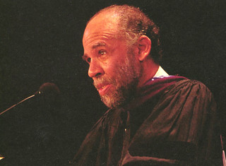 Noted civil rights attorney John Payton '73 was the class of 2005's lead Commencement speaker