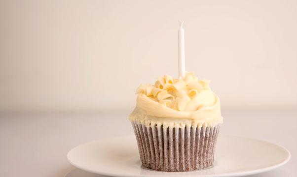 bday cupcake