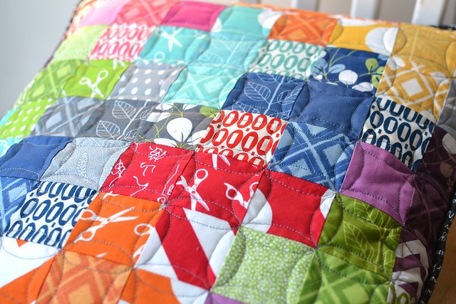 Simply Modern and Pezzy quilting