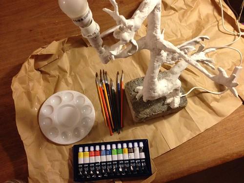 Ich habe Acrylfarben. Und ich werde sie benutzen. #discordlamp