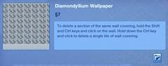 Diamondyllium Wallpaper