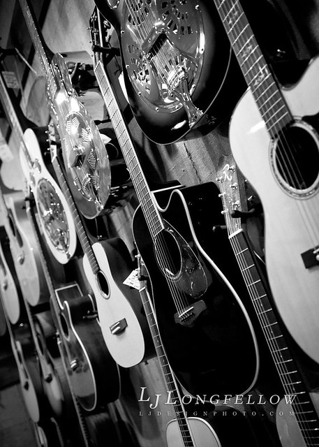 Blues Guitars B&W 52/365