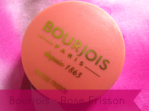 A picture of Bourjois blush in 54 rose frisson.