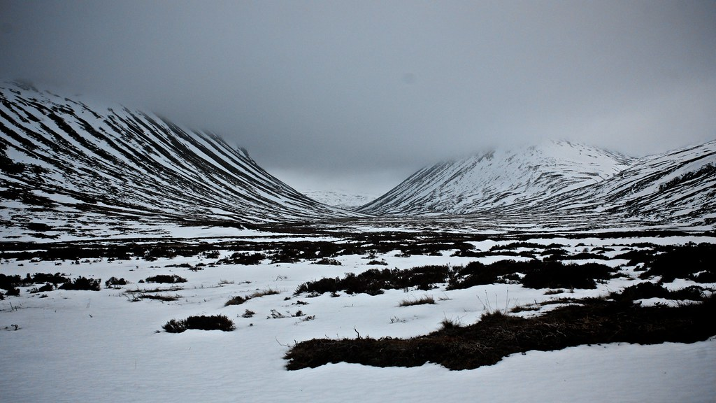 Winter in Glen Gairn