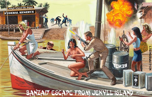 ESCAPE FROM JEKYLL ISLAND by Colonel Flick/WilliamBanzai7