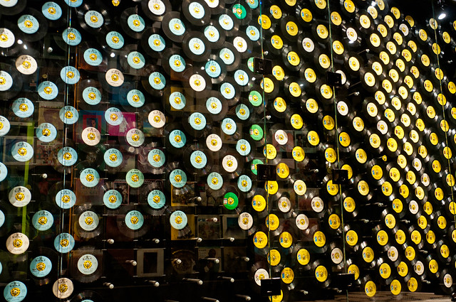 Wall of 45's at Stax Museum of American Soul Music | PopArtichoke