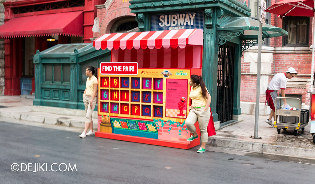 Street Game 3 - Elmo / Find the Pair