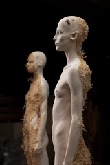 <strong>The Tainted - </strong> <br />Aron Demetz, Nord (left) and Sud (right), 2012