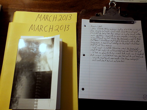 March 2013 diary