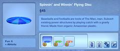 Spinnin' and Winnin' Flying Disc