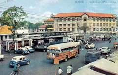 SAIGON - Terminus d'Autobus - Bến xe buýt trung tâm Saigon
