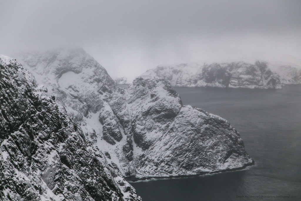 View from Nordkapp