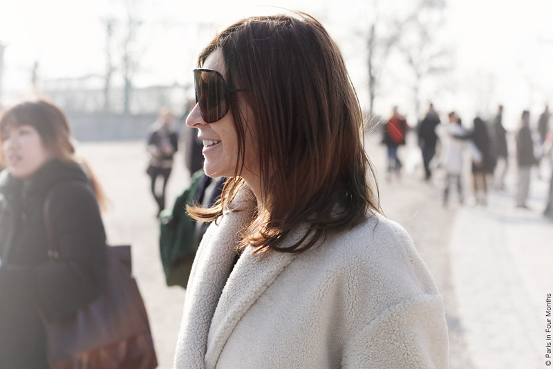 Carine Roitfeld at Paris Fashion Week FW13 by Carin Olsson (Paris in Four Months)