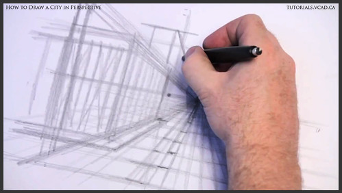 learn how to draw city buildings in perspective 006