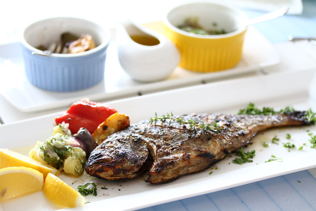 Blu Kouzina: Greek Grilled Fish
