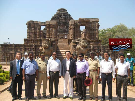Korea Ambassador Visited Konark