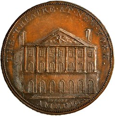 Lot 414 Theater at New York Token obverse